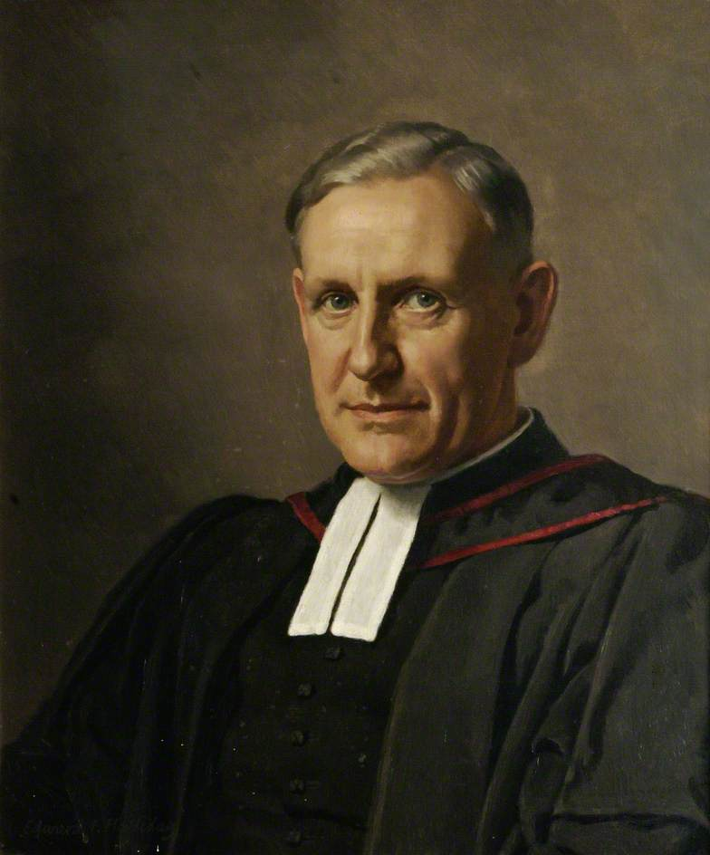 Halliday, Edward Irvine, 1902-1984; Reverend Canon Arthur Couratin, Former Principal of St Stephen's House