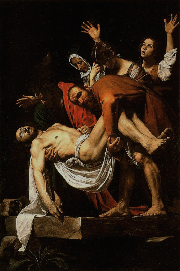 CaravaggioDeposition