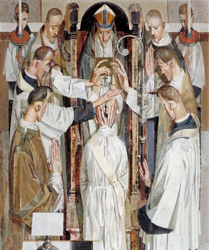 Ordination 1956 by Norman Blamey 1914-2000