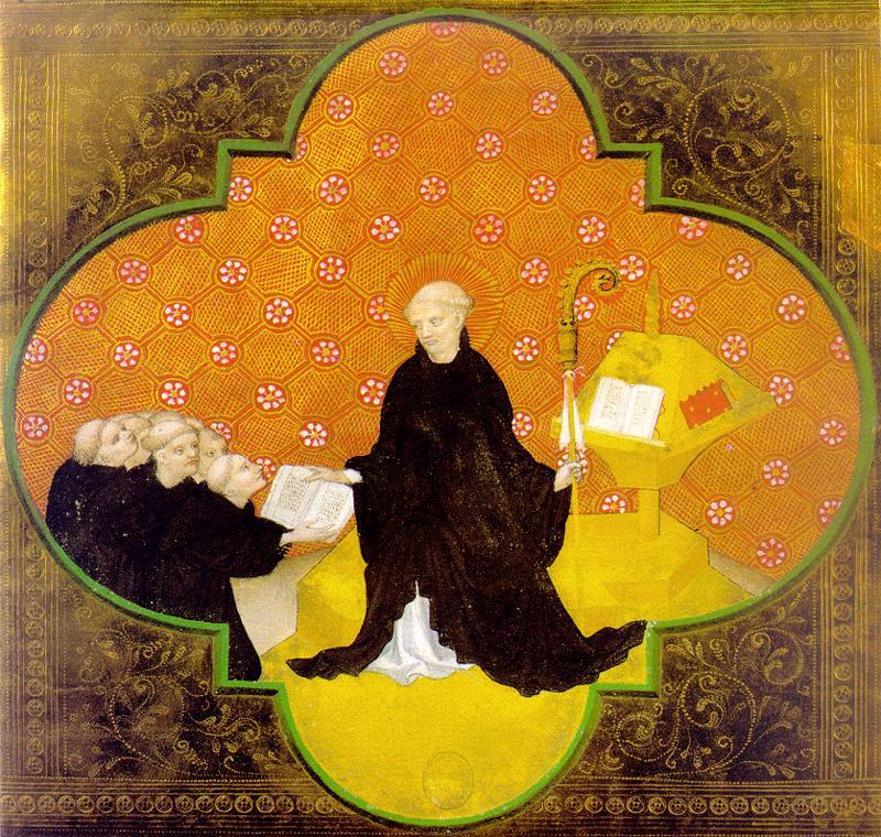 St Benedict a Bohemian artist