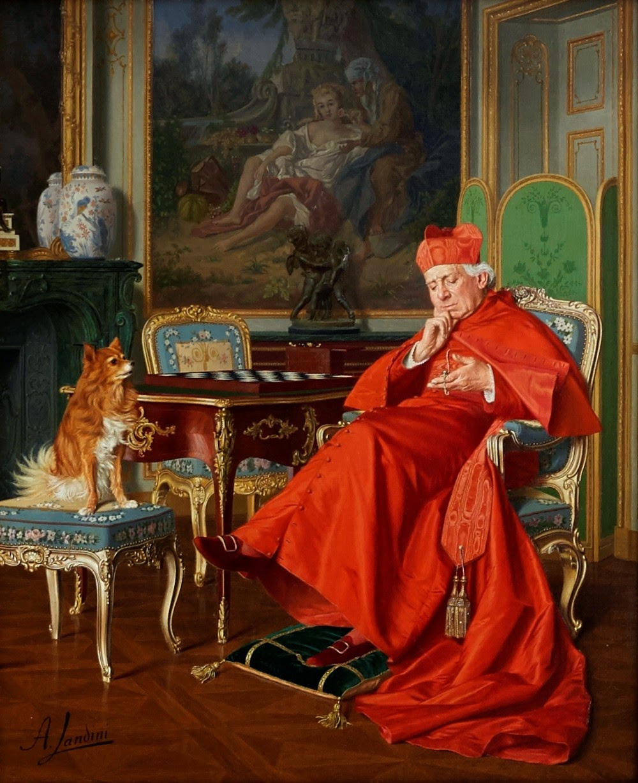 CardinalLookattheTime