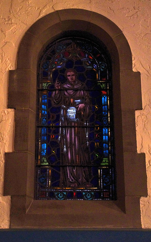 Immaculate_Conception_Church_(Columbus,_Ohio)_-_stained_glass,_Blessed_Duns_Scotus