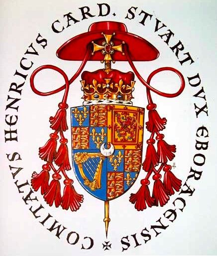 Arms of the Cardinal Duke of York Foppoli