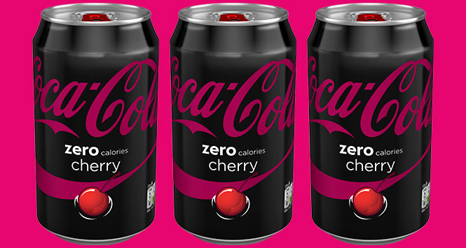 New-format-for-Coke-Zero-Cherry