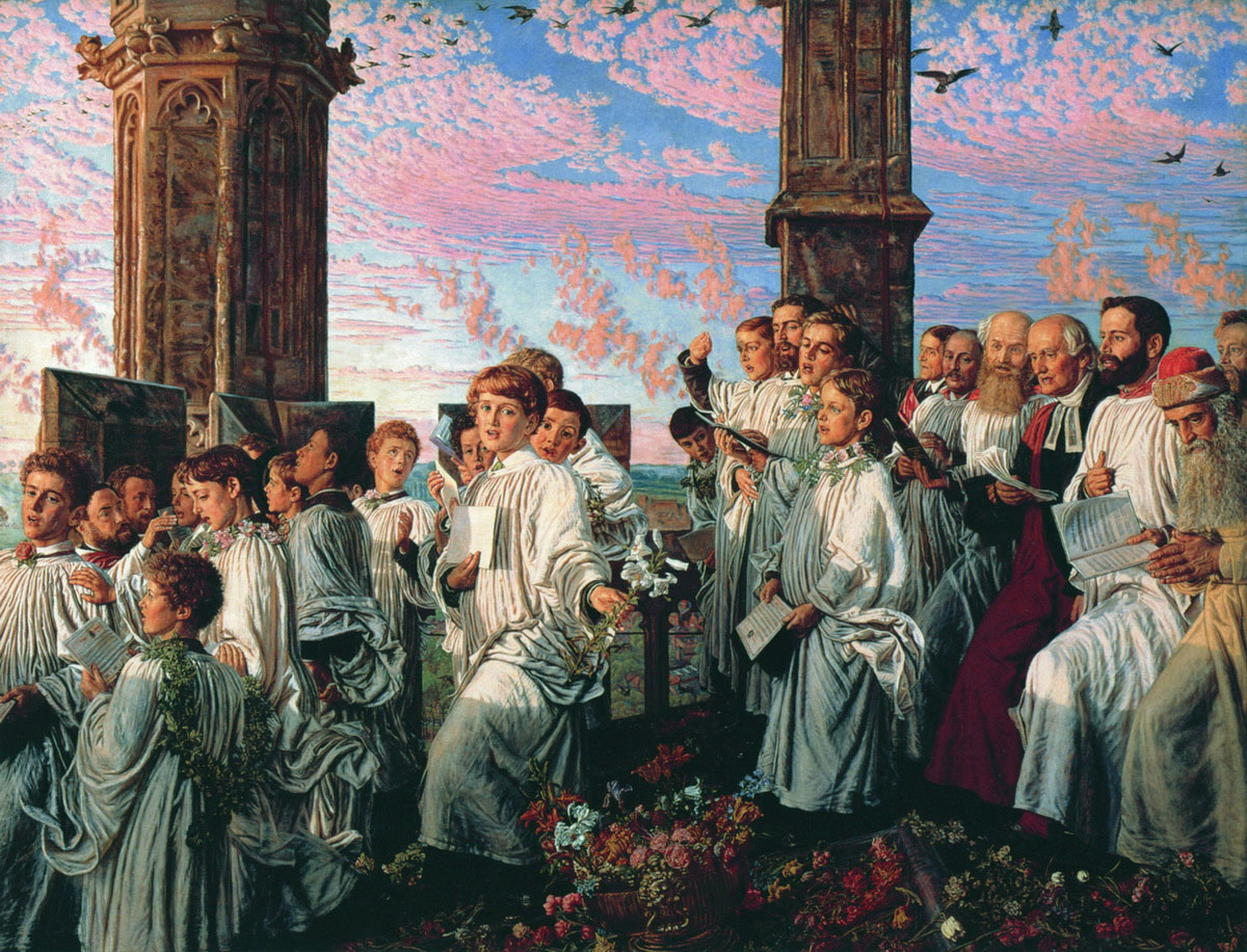 William_Holman_Hunt_-_May_Morning_on_Magdalen_Tower