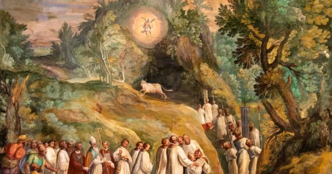 Aparición de San Miguel Arcángel en Monte Gargano