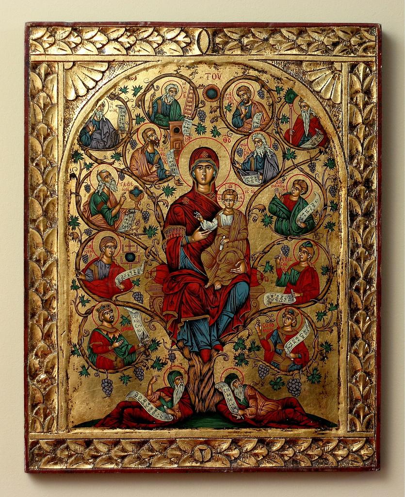 Christmas Iconography.Icons The Amish Catholic